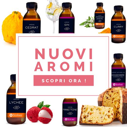 nuovi aromi alimentari Néroliane